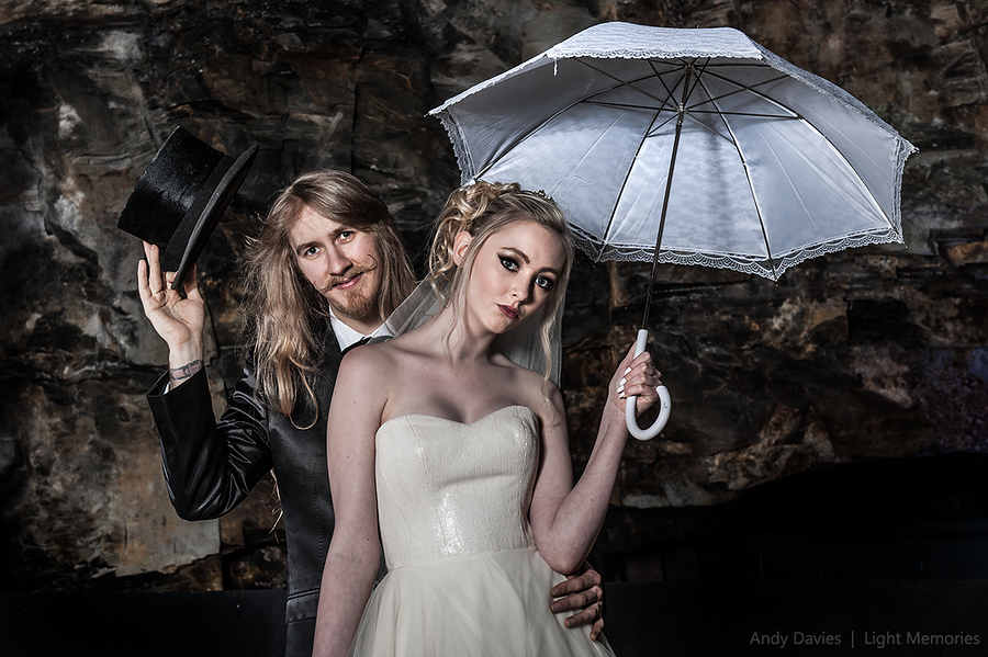 Goth Brida & Groom / Photography by Andy Davies LRPS / Uploaded 3rd July 2016 @ 02:38 PM