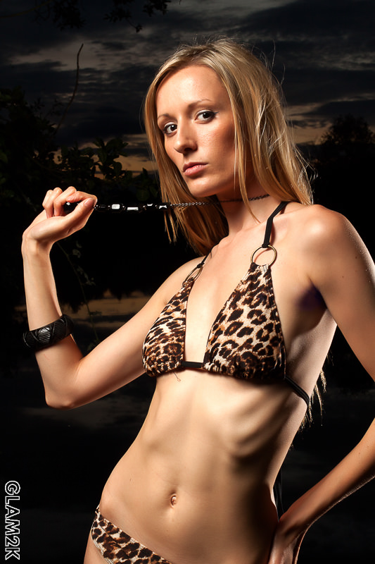Leopard print bikini at sunset / Photography by Glam2K / Uploaded 28th September 2012 @ 07:14 PM
