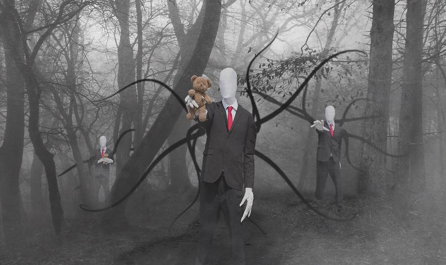 Slenderman / Photography by Gareth Havard Photography, Post processing by Unmadesugar Photography / Uploaded 14th July 2016 @ 07:40 PM