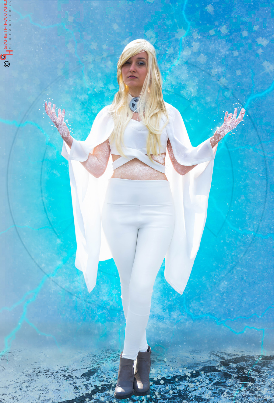 Emma Frost - Cosplay / Photography by Gareth Havard Photography, Post processing by Unmadesugar Photography / Uploaded 14th July 2016 @ 06:47 PM