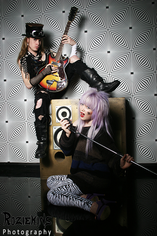 Glam Rock / Model Valen Vain / Uploaded 28th February 2012 @ 10:05 PM