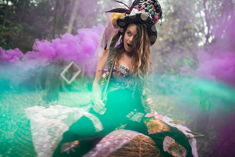 The Mad Hatters Wonderland! / Photography by Daventure, Model Silk, Assisted by Simes Himself / Uploaded 14th October 2018 @ 04:51 PM