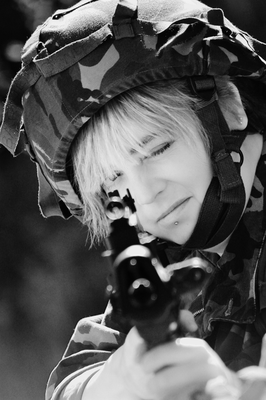 Private Benjamin / Photography by Raymond1, Model Anastasia Nyghtshade / Uploaded 11th October 2017 @ 02:30 PM