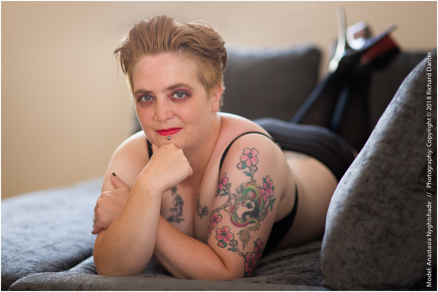 Lingerie/boudoir photo shoot image 2 / Model Anastasia Nyghtshade / Uploaded 30th September 2018 @ 10:57 AM