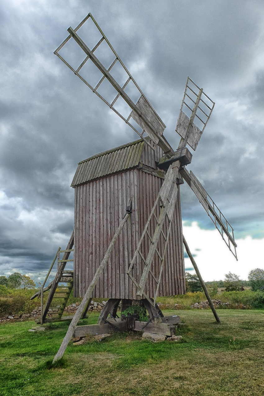 Sweden windmill / Photography by Stephen Roche / Uploaded 5th February 2017 @ 03:43 PM