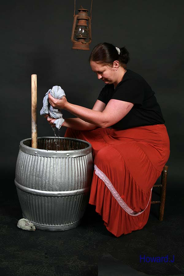 Exploring a theme. Washerwoman / Photography by happypics / Uploaded 4th July 2012 @ 10:41 AM