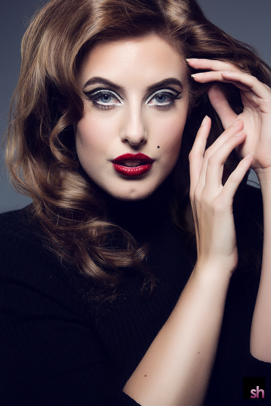 Beauty Spot / Photography by Saracen House Studio, Model Arabella, Makeup by Natalie Wood, Taken at Saracen House Studio / Uploaded 13th January 2018 @ 01:53 PM