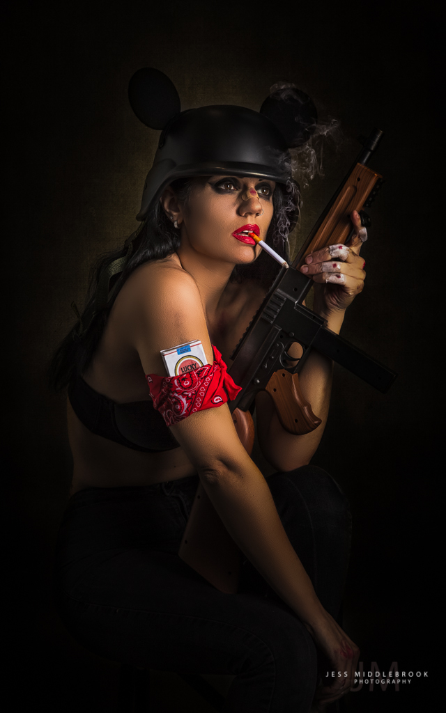 Brian M. Viveros inspired / Photography by Jess Middlebrook, Model Lilly Von Pink, Makeup by The velvet unicorn / Uploaded 6th November 2017 @ 08:48 PM