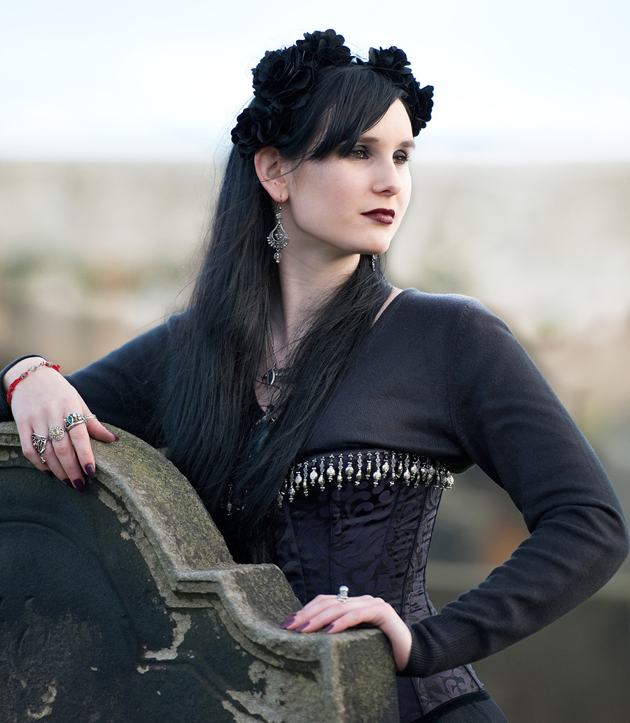 Gothic Lady / Photography by Off Beat Image / Uploaded 31st October 2015 @ 07:50 PM
