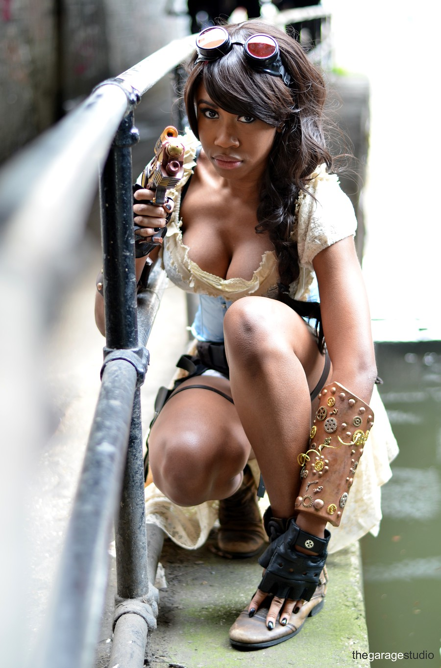 Steampunk Lara Croft / Photography by thegaragestudio / Uploaded 17th April 2015 @ 07:18 PM