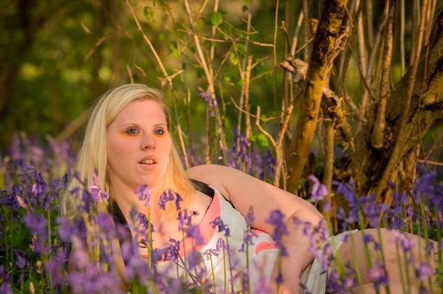 Blonde in Bluebells / Photography by Chris Franklin, Model Julia Thomas, Makeup by Julia Thomas, Hair styling by Julia Thomas / Uploaded 22nd April 2014 @ 10:34 PM