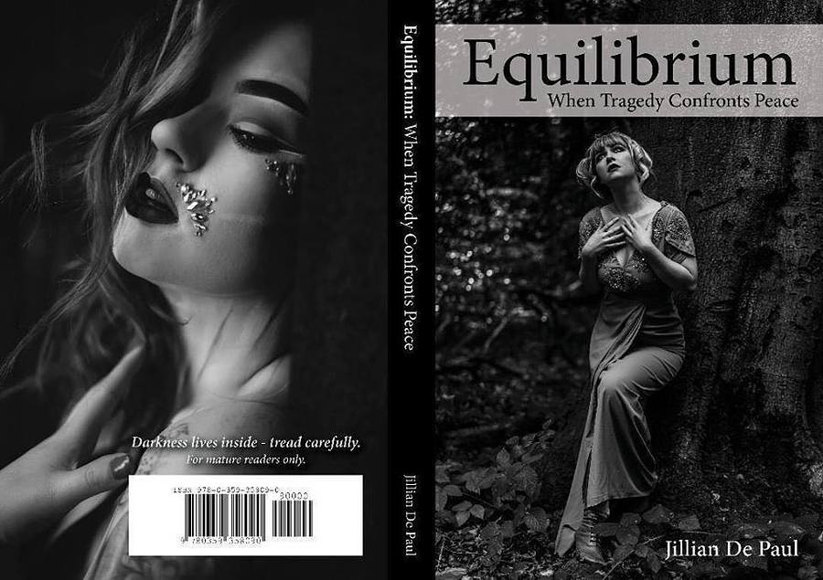 Equilibrium Book Cover / Photography by FIFTYMM Photography, Model Miss Rosie Lea / Uploaded 7th March 2019 @ 07:41 PM