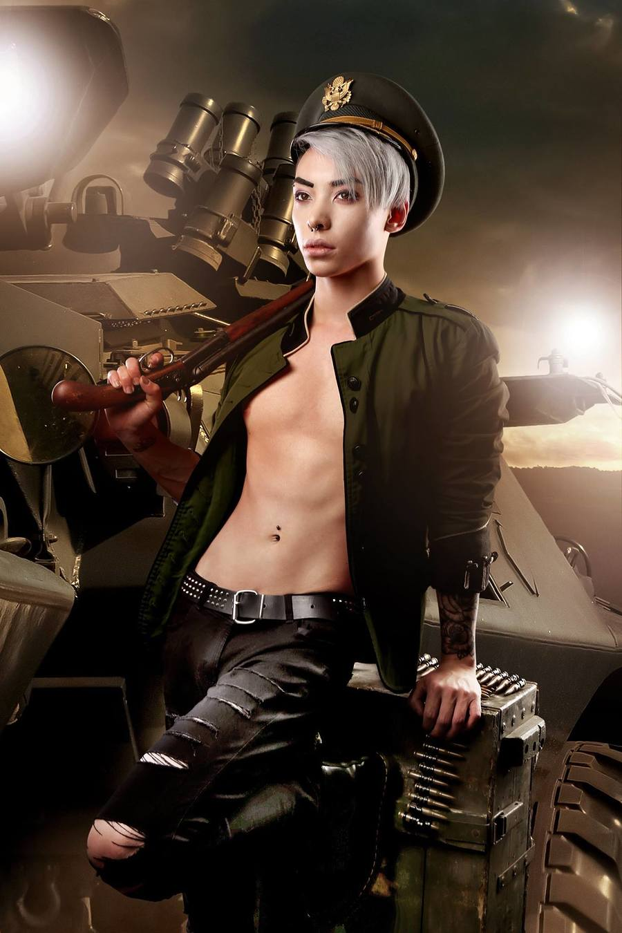 Combat Baby / Model Kuro / Uploaded 21st May 2018 @ 08:56 PM