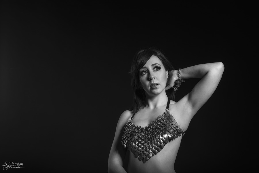Chainmail / Photography by AJ Charlton, Model Alias, Taken at The Coach House Studio / Uploaded 16th May 2015 @ 02:28 PM