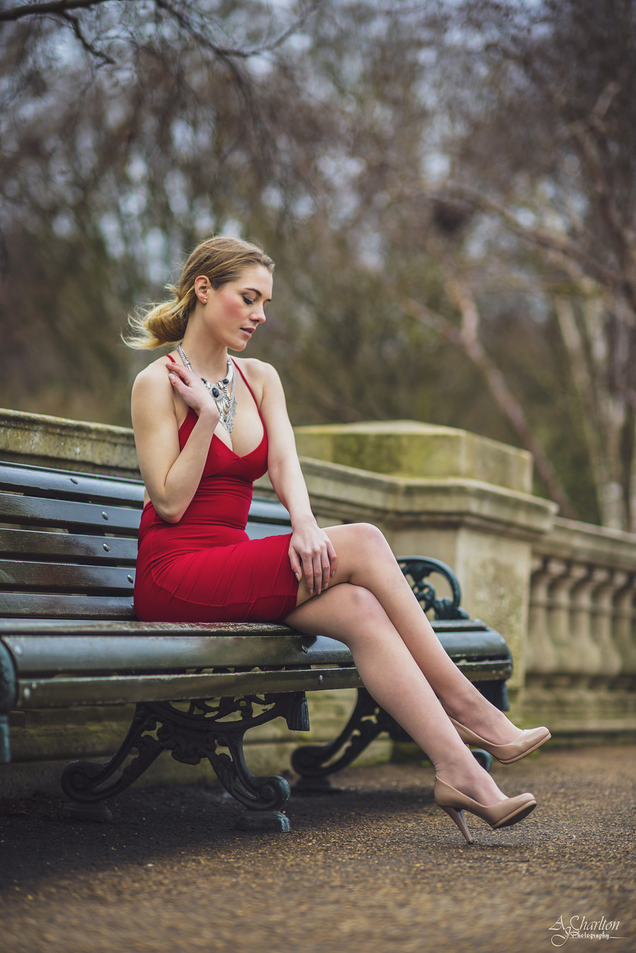 Lady In Red / Photography by AJ Charlton / Uploaded 30th March 2016 @ 12:28 AM