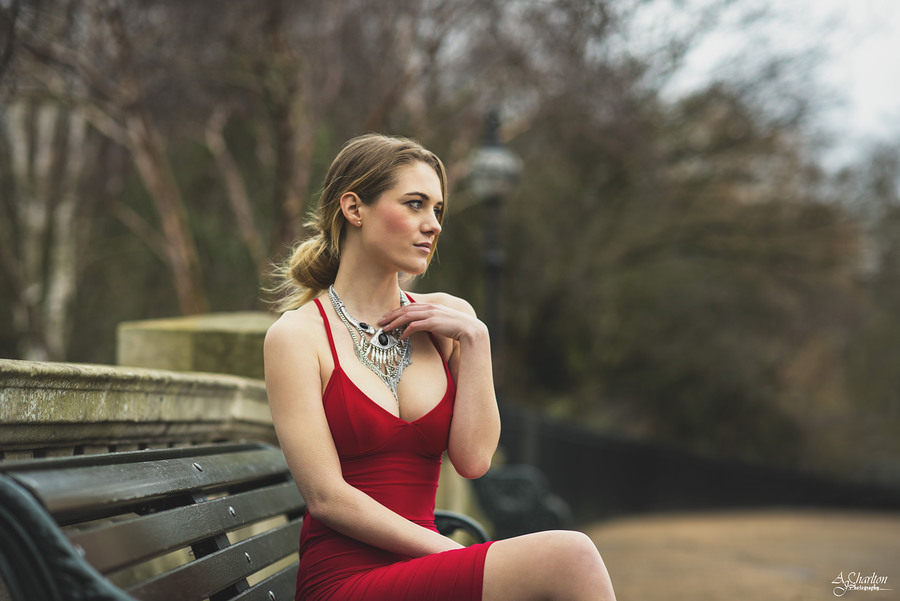 Lady In Red 2 / Photography by AJ Charlton / Uploaded 29th March 2016 @ 11:31 PM