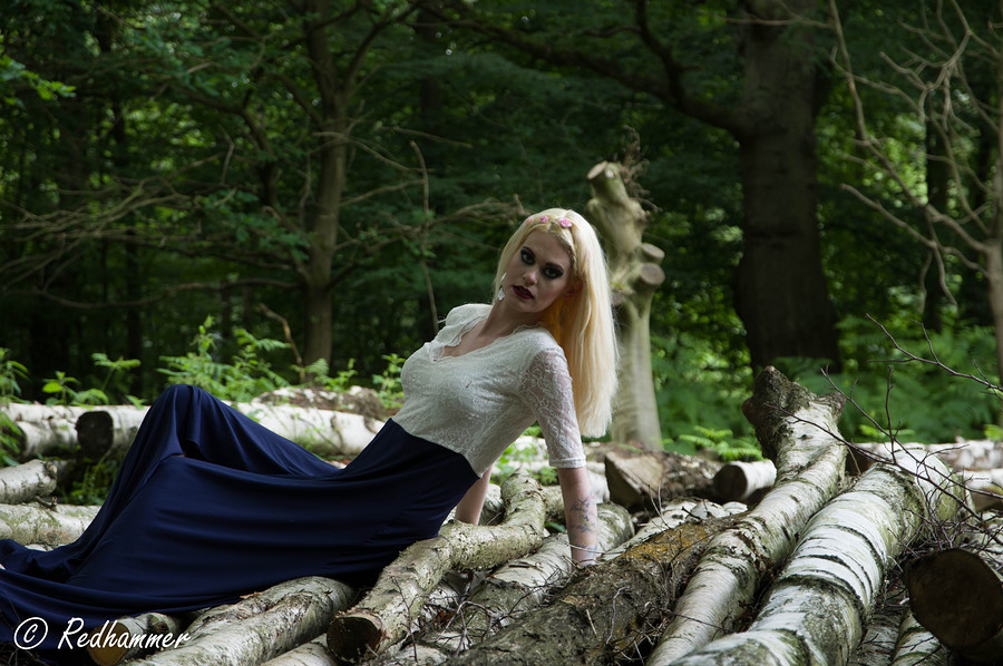 On the log pile / Photography by Redhammer, Makeup by Romessa Sheikh Professional Makeup Artist / Uploaded 2nd July 2016 @ 03:04 PM