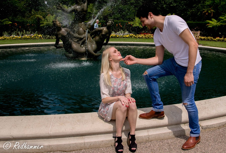 Love by the fountains / Photography by Redhammer, Makeup by Romessa Sheikh Professional Makeup Artist / Uploaded 19th July 2016 @ 04:34 PM