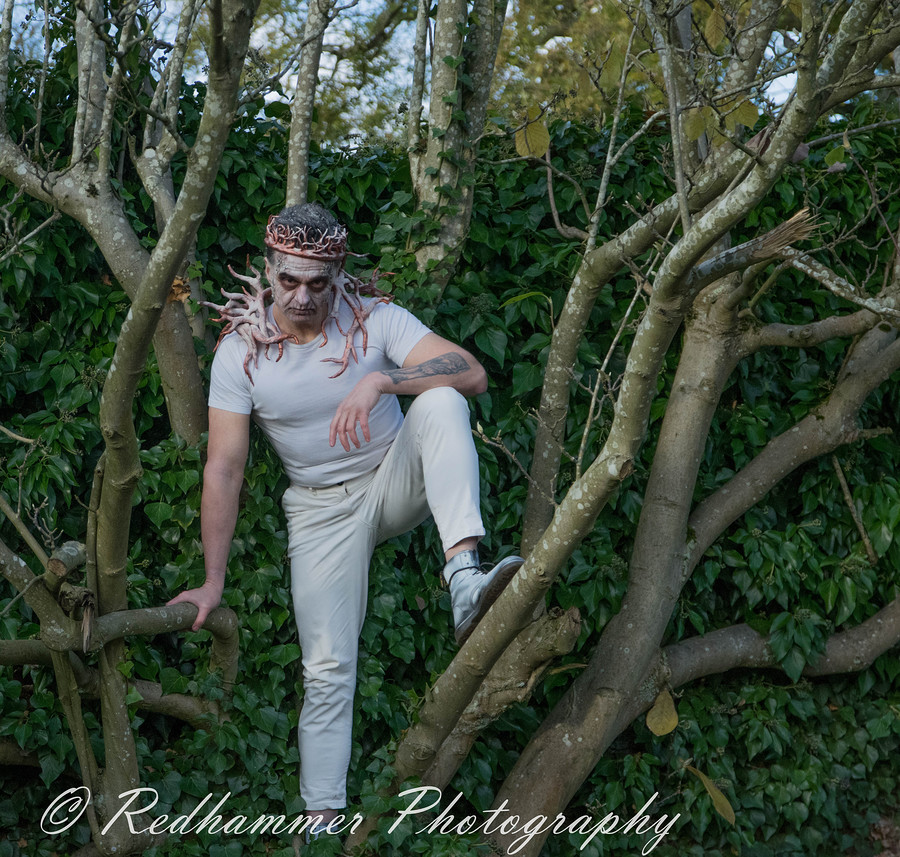 fantasy man in tree / Photography by Redhammer / Uploaded 13th November 2017 @ 11:21 PM
