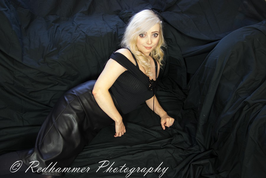 All in black / Photography by Redhammer, Model Carla Stillwell / Uploaded 11th January 2018 @ 10:39 PM