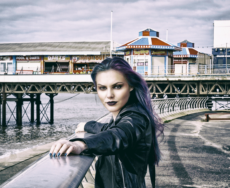 Underneath the Blackpool Sky / Photography by DNM Photography, Model 'M' / Uploaded 19th March 2017 @ 05:23 PM