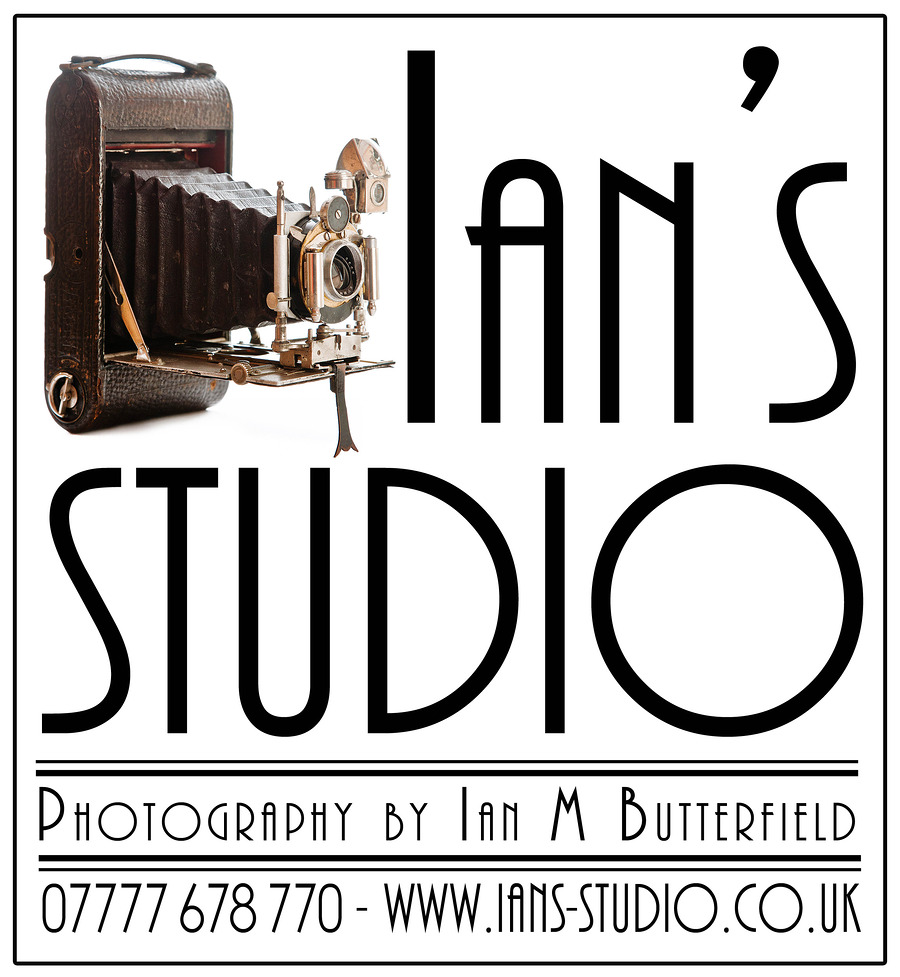 Ian's Studio Logo / Photography by Ian M Butterfield, Taken at Ian's Studio / Uploaded 20th March 2012 @ 11:31 PM