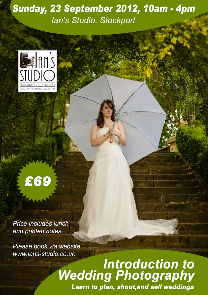 Introduction to Wedding Photography / Photography by Ian M Butterfield, Taken at Ian's Studio / Uploaded 26th September 2012 @ 01:10 AM