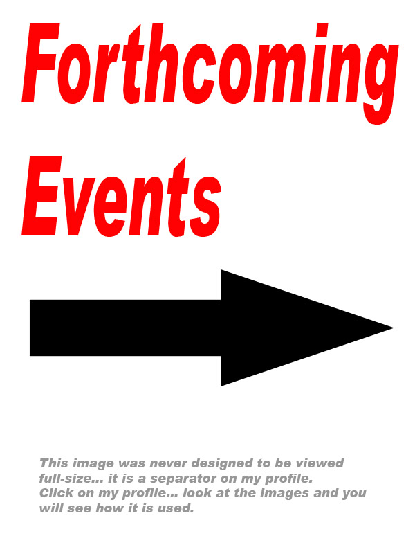 Forthcoming Events / Taken at Ian's Studio / Uploaded 1st October 2012 @ 12:19 PM