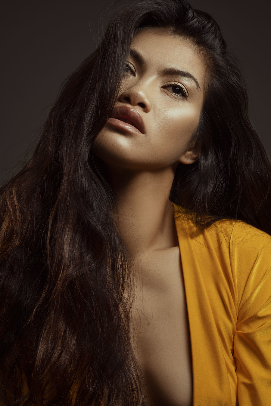 Mustard Beauty / Photography by Lauren Danielle Photography, Model Mia Resa, Makeup by Mia Resa, Post processing by Lauren Danielle Photography, Stylist Mia Resa, Taken at Lauren Danielle Photography, Hair styling by Mia Resa / Uploaded 13th September 2021 @ 08:45 PM