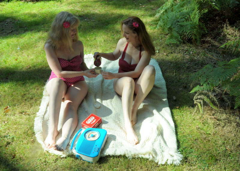 Picnic in the sun / Photography by Chris Reeves, Models Joleen Turner, Models Lanie Anne, Stylist Joleen Turner, Stylist Lanie Anne, Taken at Far Forest Studio / Uploaded 21st September 2019 @ 08:07 PM