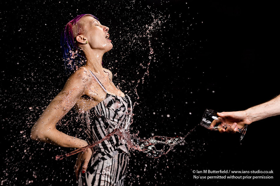 Scarlett K - Model Splash Event / Photography by Ian M Butterfield, Taken at Ian's Studio / Uploaded 12th June 2016 @ 04:55 PM