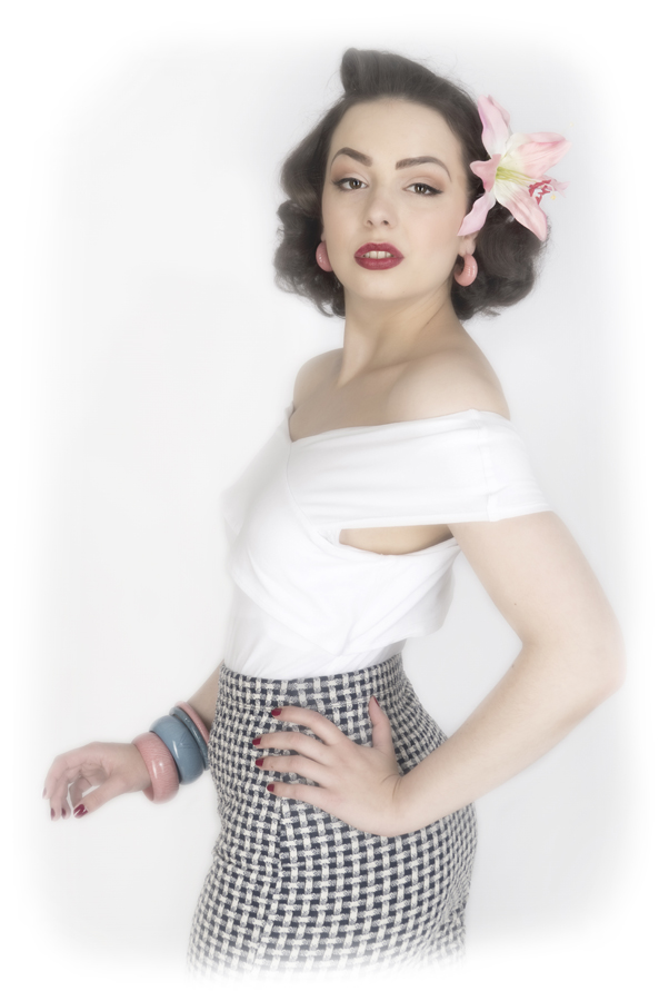 50s Pinup / Photography by B43photography, Model Alicia K, Makeup by Alicia K, Post processing by B43photography, Stylist Alicia K, Taken at B43photography, Hair styling by Alicia K / Uploaded 30th April 2017 @ 07:01 PM