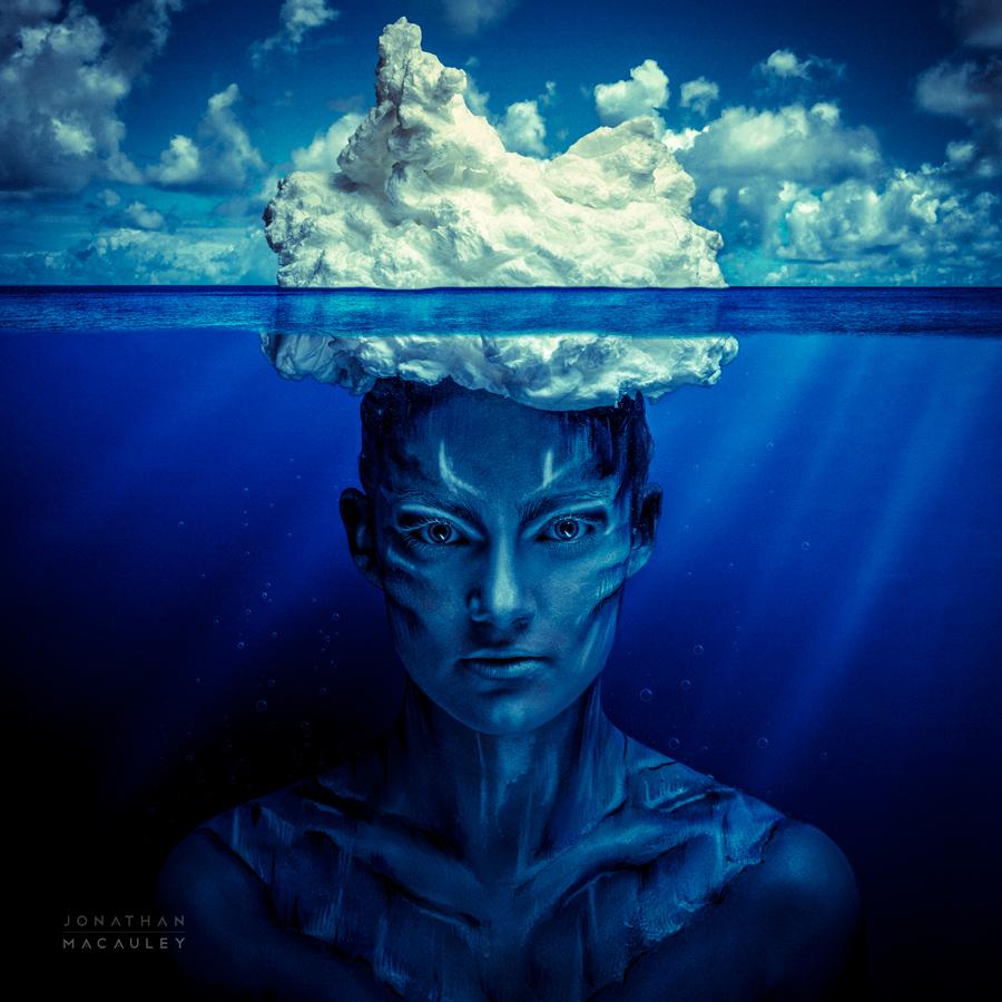 The mind is like an iceberg / Photography by Jonathan Macauley, Post processing by Jonathan Macauley / Uploaded 23rd June 2013 @ 02:52 PM