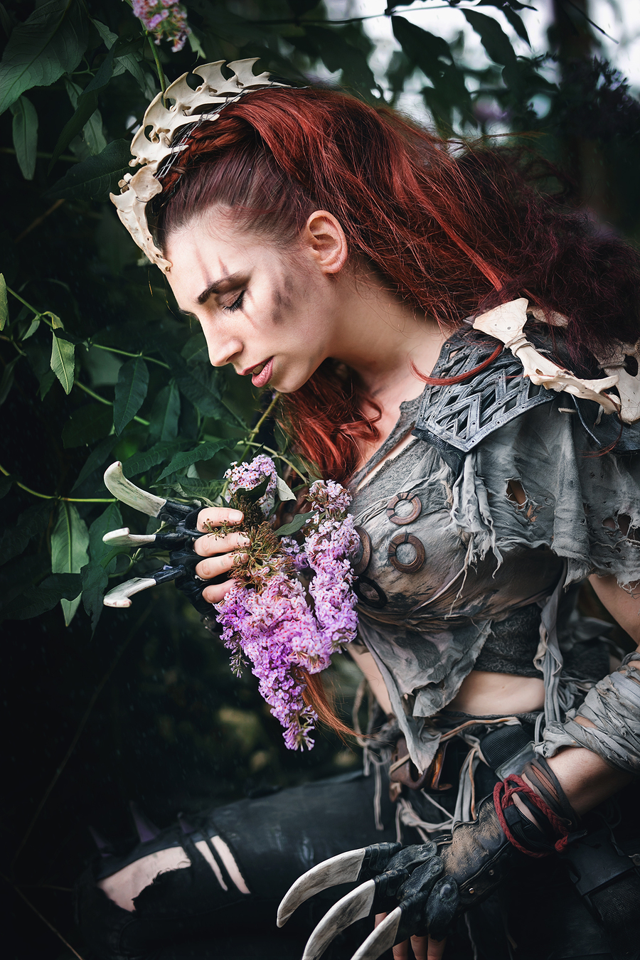 Flowers of the Heart / Photography by So Say We All, Model Roswell Ivory, Post processing by So Say We All / Uploaded 1st November 2017 @ 08:33 PM