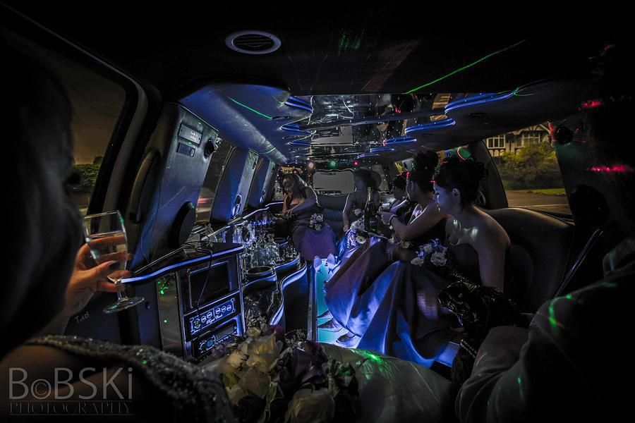 The Bridal Party - Limo Lighting / Photography by BobskiRGV, Post processing by BobskiRGV / Uploaded 23rd June 2014 @ 11:40 PM