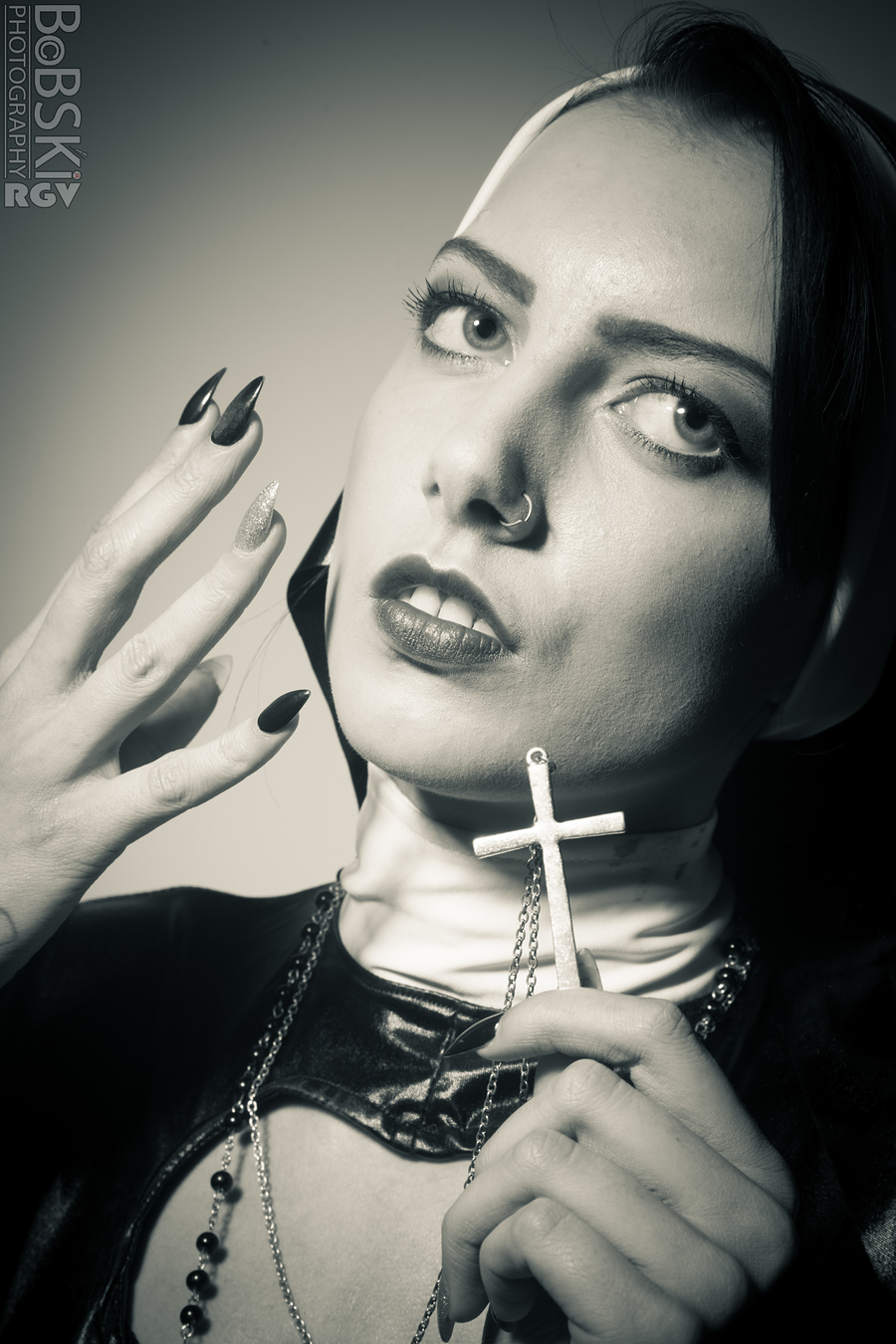 The Cross won't save me! / Photography by BobskiRGV, Post processing by BobskiRGV / Uploaded 6th October 2014 @ 11:41 PM