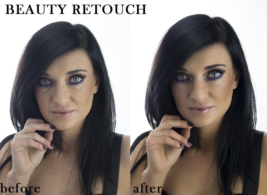 Beauty before and after / Photography by azealia photography, Post processing by Azealia Retouching / Uploaded 1st December 2018 @ 11:23 AM