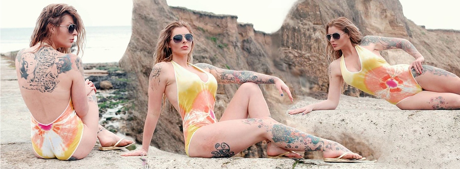 Cool for the summer / Model Kookie Katana, Makeup by Kookie Katana, Hair styling by Kookie Katana / Uploaded 17th October 2015 @ 03:59 PM