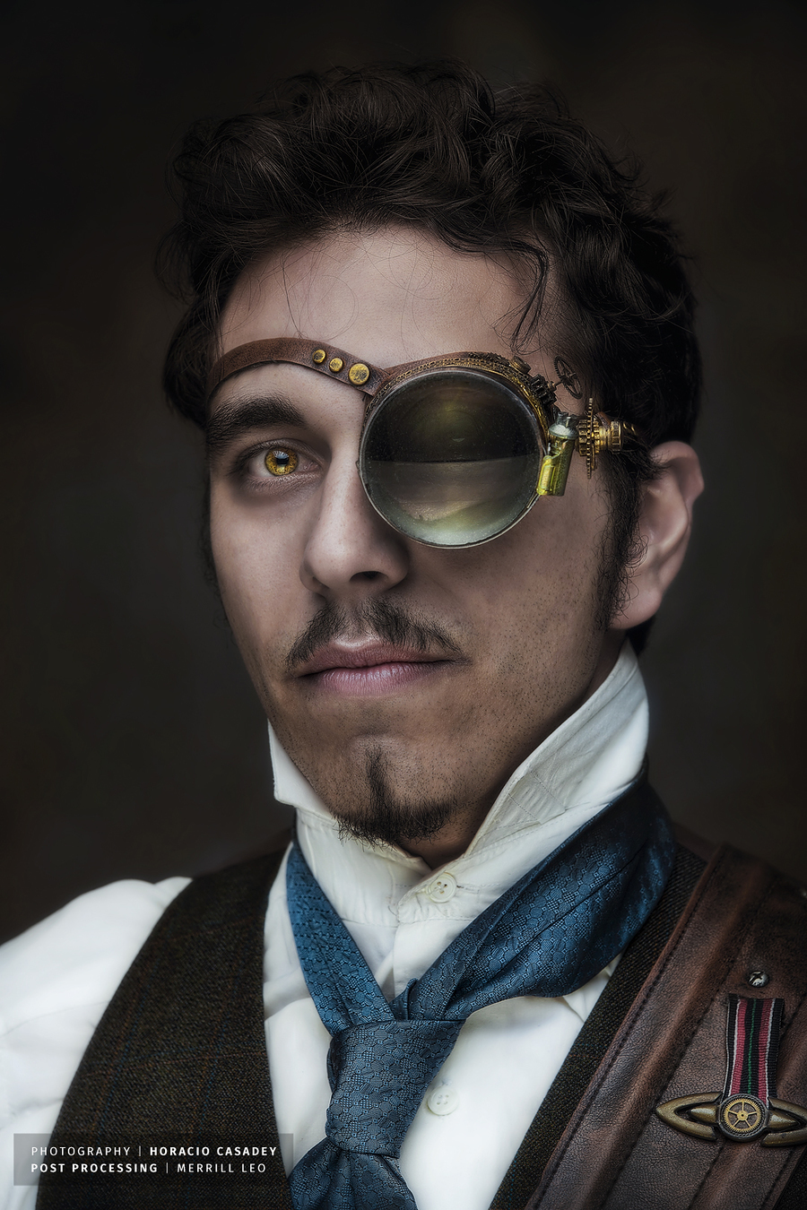 Steam Punk Retouch for Horacio Casadey / Post processing by Lightweavers / Uploaded 18th March 2015 @ 09:57 PM