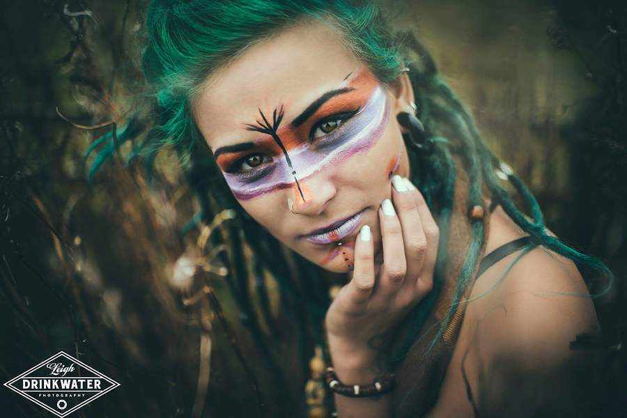Tribal portrait / Photography by Leigh Drinkwater Photography, Model Paige Tamara Frost / Uploaded 12th October 2015 @ 09:02 PM