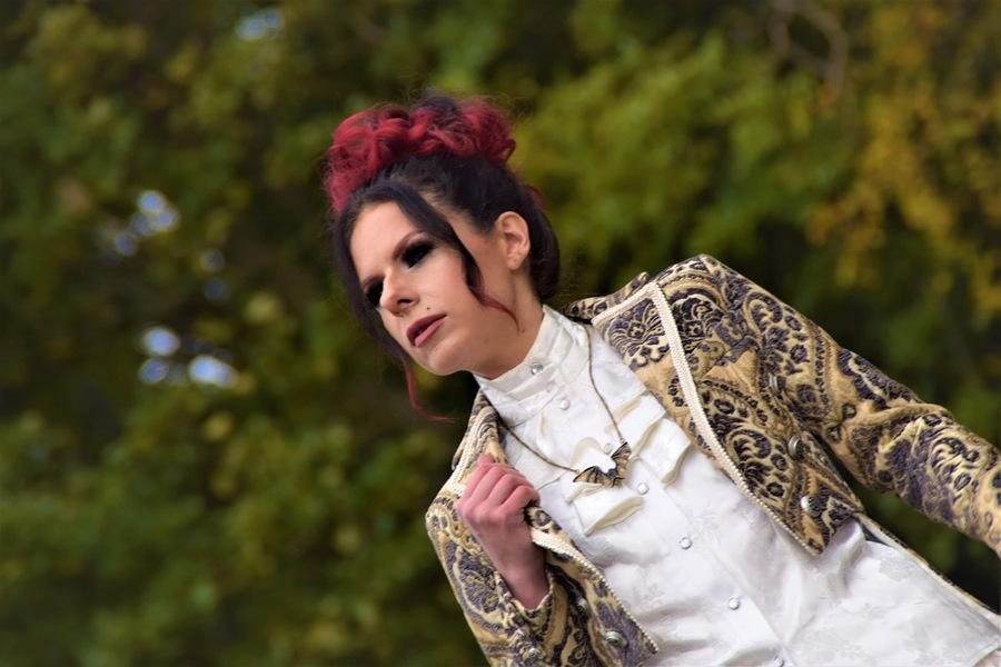 @ Sascha Bahn mua: Kelly McCall weaing Shrine of Hollywood / Model Amaryllis / Uploaded 29th October 2020 @ 09:22 PM