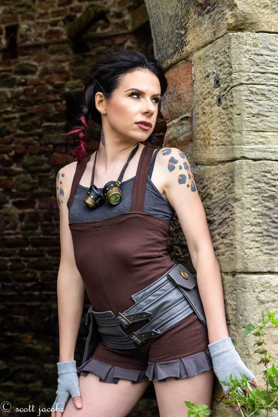 @ Scott Jacobs mua: Kelly McCall wearing Kato's Steampunk Couture / Model Amaryllis / Uploaded 29th October 2020 @ 09:22 PM