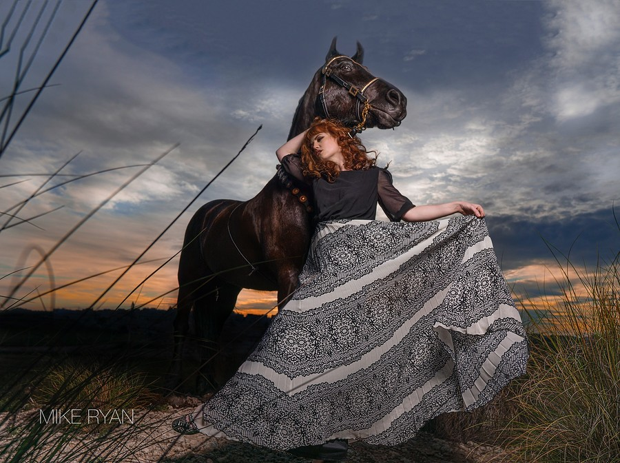 Gypsy Spirit / Photography by MIchael Ryan, Model ZoePage / Uploaded 13th February 2020 @ 08:23 PM