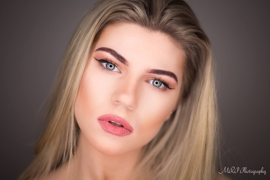 Beauty shot. / Photography by Mark Peers, Model Amber Chelsea, Makeup by Amber Chelsea / Uploaded 16th February 2017 @ 12:51 PM