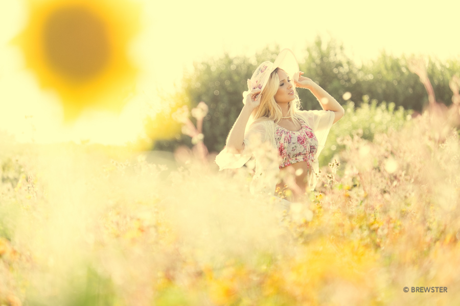 When we walked in fields of gold / Photography by brewster, Model Louisa marie / Uploaded 14th August 2014 @ 02:41 PM