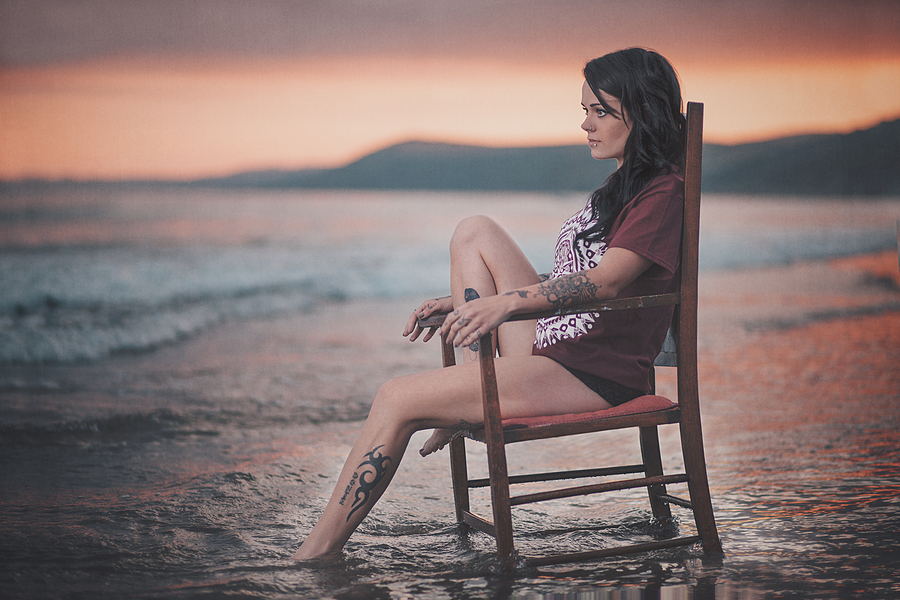 Sunset Solitude / Photography by Marcus Hodges, Post processing by Marcus Hodges / Uploaded 1st July 2015 @ 09:09 PM