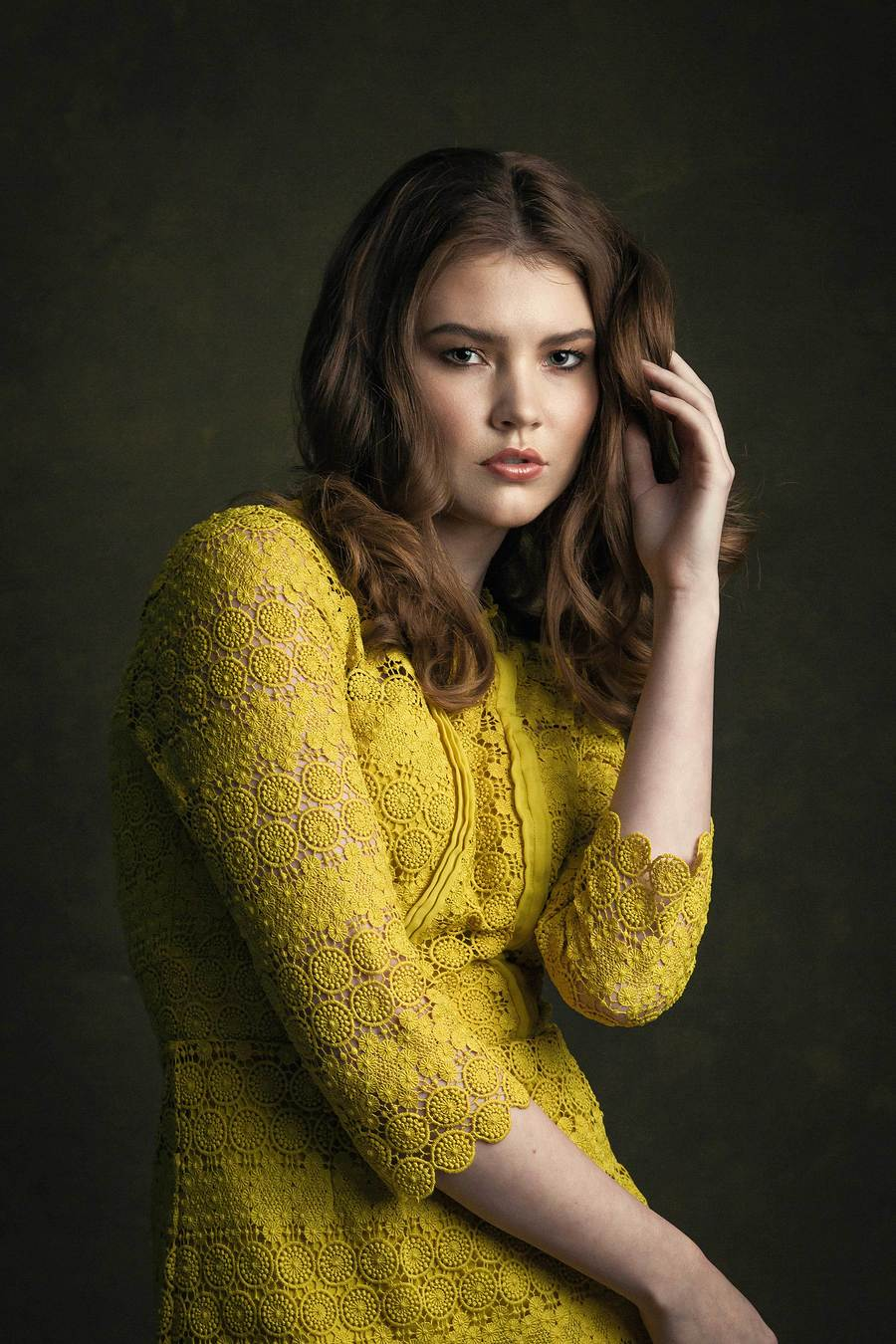 Chloe / Photography by Grewy, Model Chloe., Makeup by Natalie Wood, Post processing by Grewy, Taken at Grewy, Hair styling by Natalie Wood / Uploaded 2nd November 2018 @ 06:46 PM