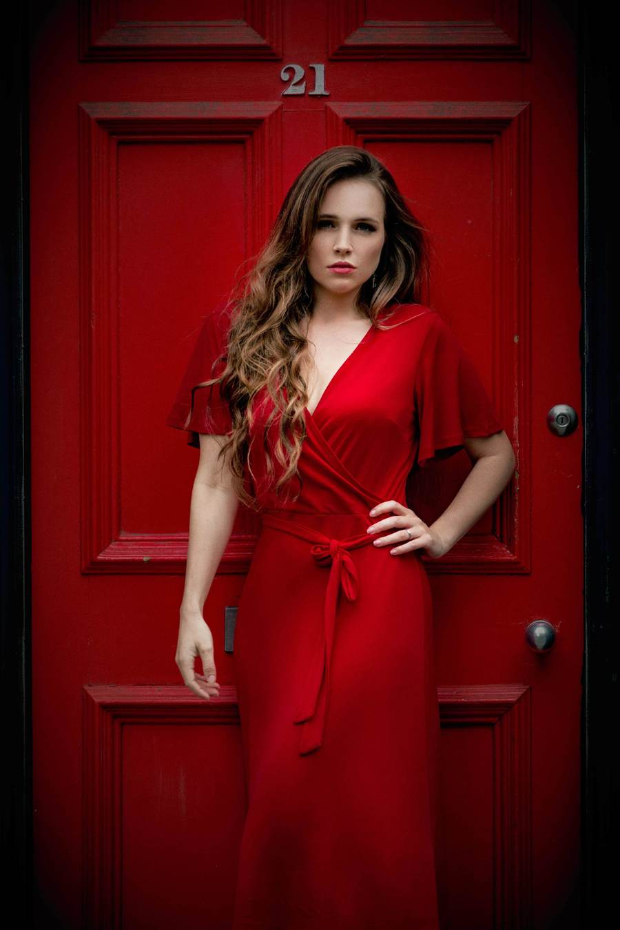 Red door  / Photography by Grewy, Model BeccyWinter, Post processing by Grewy / Uploaded 29th May 2019 @ 10:16 PM