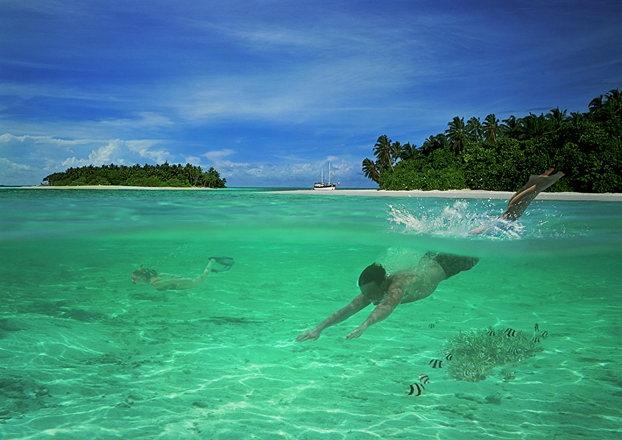 Maldives  / Photography by Lorentz Gullachsen / Uploaded 15th August 2014 @ 05:44 PM