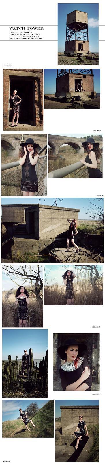 Photography by Nardip, Model Poppy Radcliffe, Designer Ligniform / Uploaded 1st April 2015 @ 12:32 AM